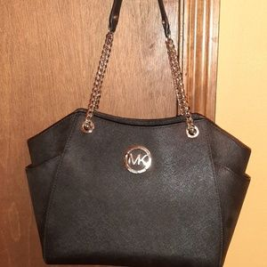 Michael  KORS black tote purse